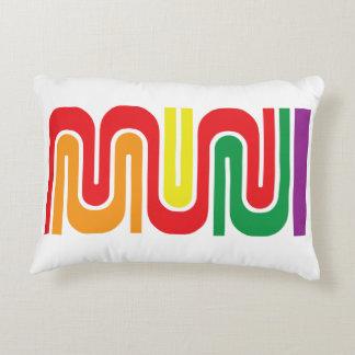 Muni Transit logo pillow