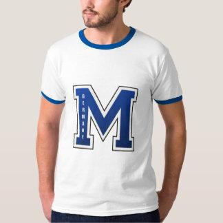 Munich American High School Varsity Letter T-Shirt