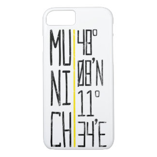 Munich Coordinates Mobile Phone Case