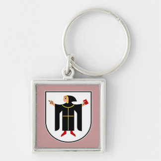 Munich Germany coat of arms Keychain