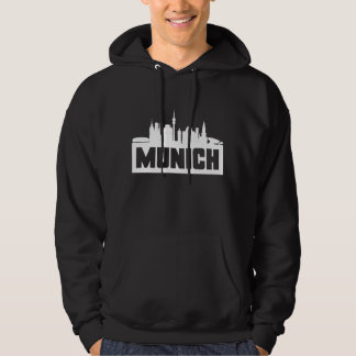 Munich Germany Skyline Hoodie