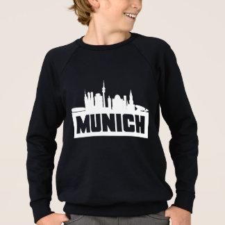 Munich Germany Skyline Sweatshirt