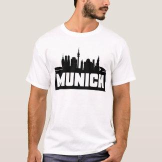 Munich Germany Skyline T-Shirt