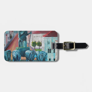 Munich Leopold Str. With Bavaria And Alps Luggage Tag