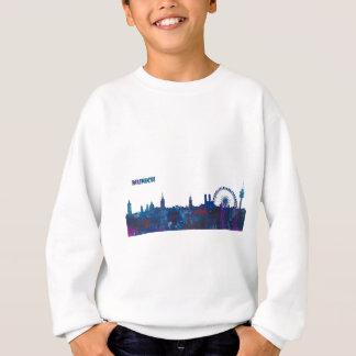 Munich Skyline Silhouette Sweatshirt