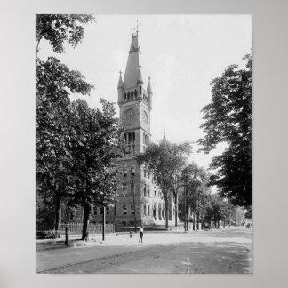 Municipal Building Scranton Pa. Poster