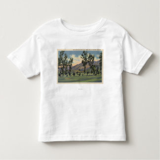 Municipal Golf Course in Griffith Park Tshirts