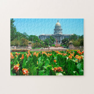 Municipal Office Denver Colorado. Jigsaw Puzzle