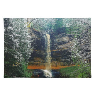 Munising Falls Upper Peninsula Michigan Placemat