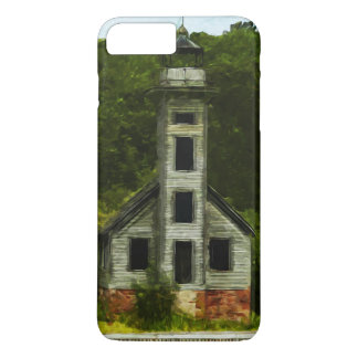 Munising Michigan Lighthouse Abstract iPhone 7 Plus Case