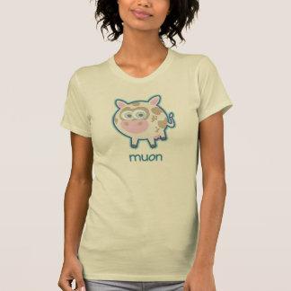 Muon Particle Cow T-Shirt