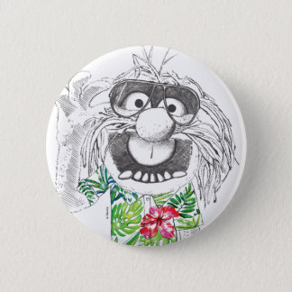 Muppets | Animal In A Hawaiian Shirt 2 Inch Round Button