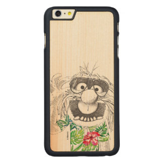 Muppets | Animal In A Hawaiian Shirt Carved® Maple iPhone 6 Plus Case