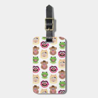 Muppets Emoji Luggage Tag