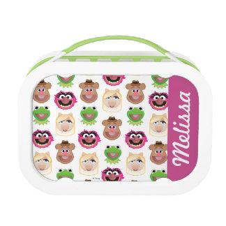 Muppets - Emoji Pattern Lunch Boxes