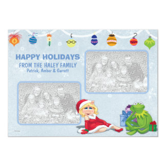 "Muppets Holiday Card 5"" X 7"" Invitation Card"