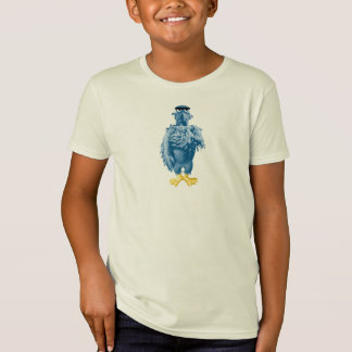 Muppets Sam the Eagle standing pledging Disney Tee Shirts