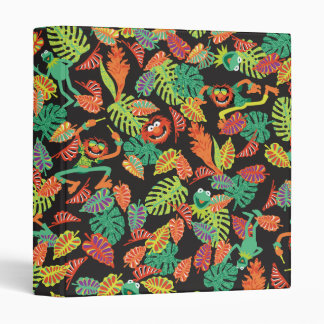 Muppets | Tropical Kermit & Animal Pattern Binders