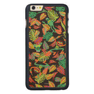 Muppets | Tropical Kermit & Animal Pattern Carved® Maple iPhone 6 Plus Case
