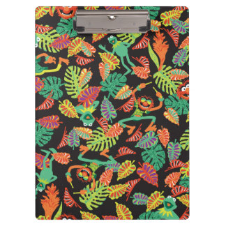 Muppets | Tropical Kermit & Animal Pattern Clipboards