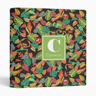 Muppets | Tropical Kermit & Animal Pattern Vinyl Binder