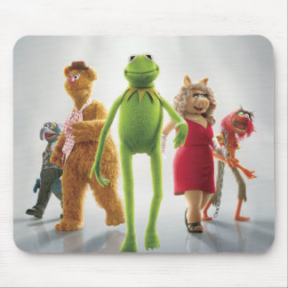 Muppets Walking Poster Mouse Pad
