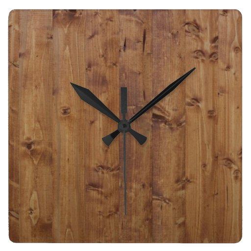 Mur de grange fait de vieilles planches en bois horloge for Vieille planche de bois