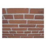 Mur d'invitation de briques