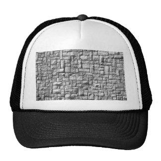 Mur en pierre casquette