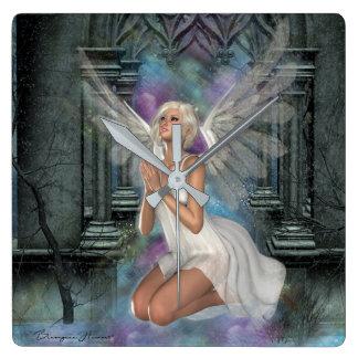 Mural clock Prayer Enchanter