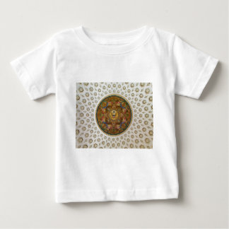 Mural & coffers Ceiling Dome in Jefferson Building Baby T-Shirt