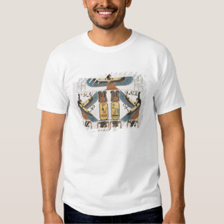 Mural from the Tombs of the Kings at Thebes, disco Shirt