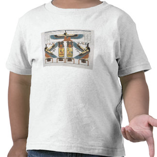 Mural from the Tombs of the Kings at Thebes disco Tshirts