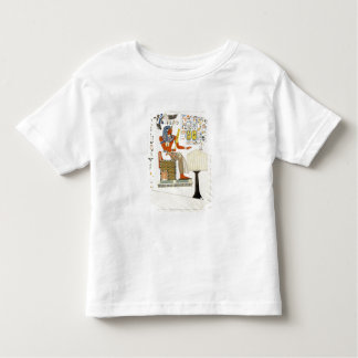 Mural from the Tombs of the Kings of Thebes, disco Toddler T-shirt