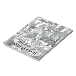 Mural Note notebook Arch Search