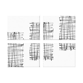 Mural with 4 panels canvas print