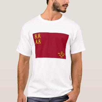 murcia region flag spain province T-Shirt
