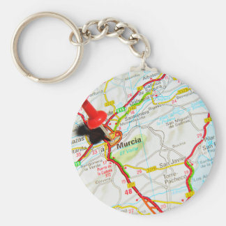 Murcia, Spain Basic Round Button Keychain
