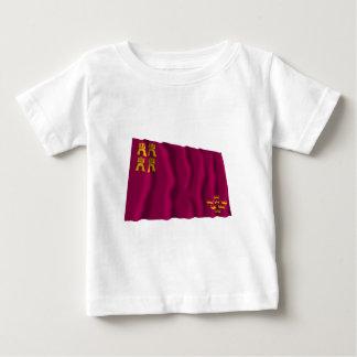 Murcia waving flag baby T-Shirt