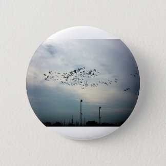 Murder of Crows 2 Inch Round Button