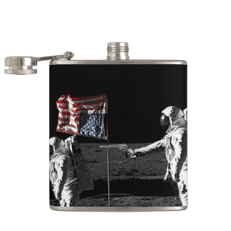 Murder on the Moon Flask