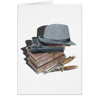 MurderMysteryBooksGunKnivesFedora042113.png Card