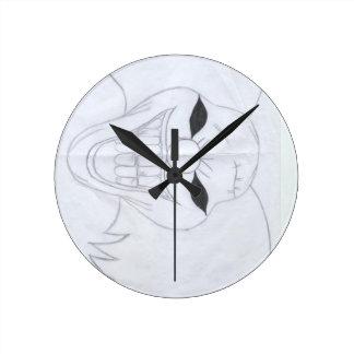 murderous clown round clock