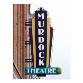Murdock Theatre, Wichita, Kansas Postcard