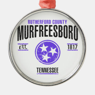 Murfreesboro Metal Ornament