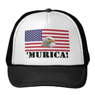 Murica Eagle Trucker Hat
