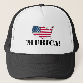Murica Flag Trucker Hat