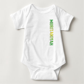 Muritaniyah (Mauritania) Baby Bodysuit