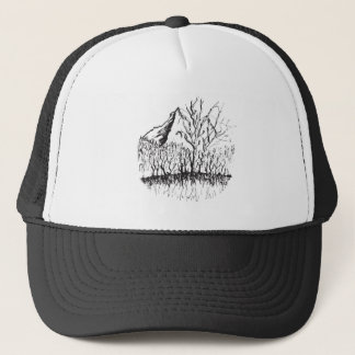Murmurs the mountain trucker hat