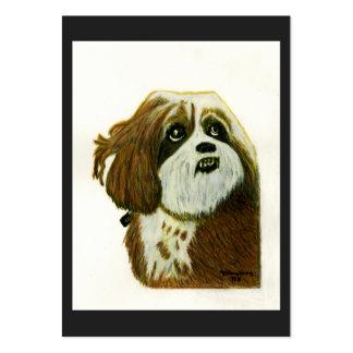 Murphy 1 Dog jGibney The MUSEUM Zazzle Gift Large Business Card